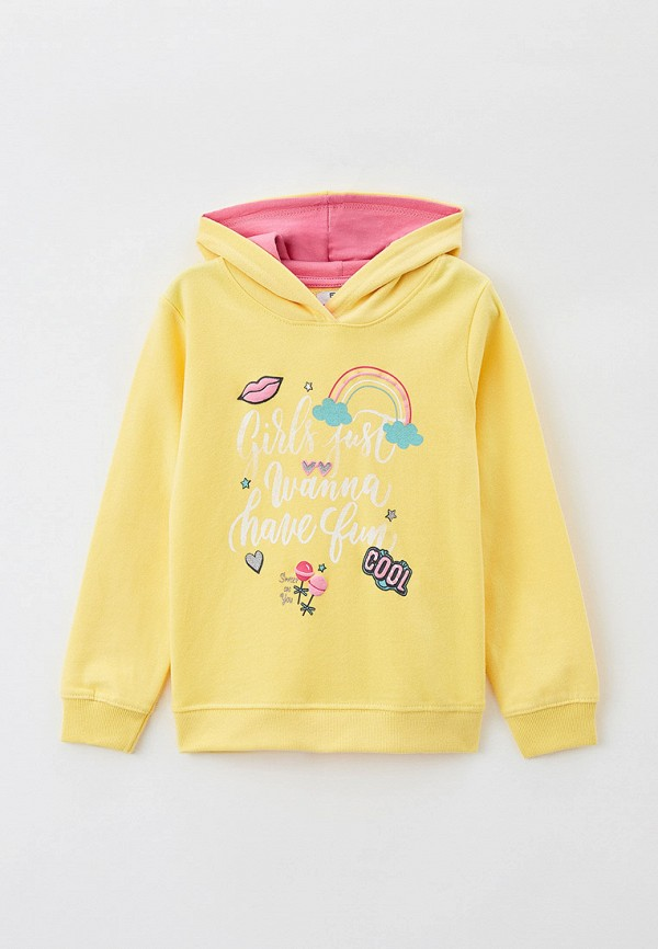 худи baon для девочки, желтые