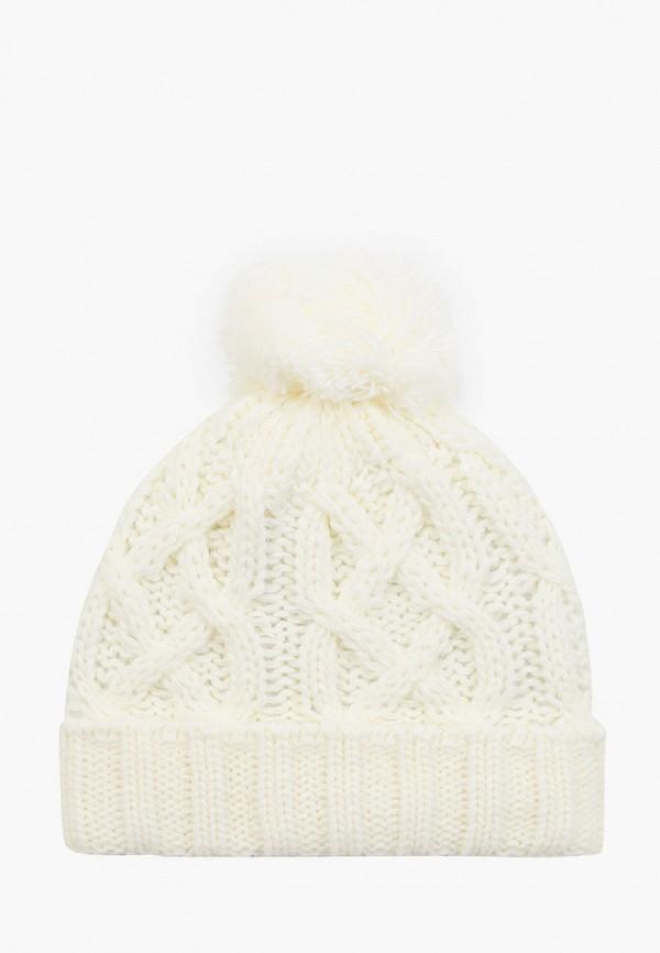 шапка coccodrillo для девочки, белая