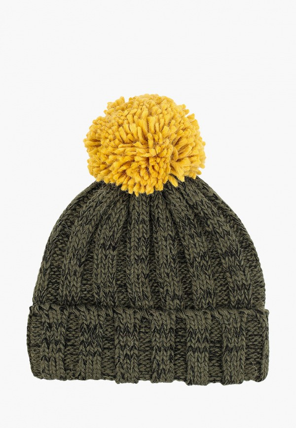шапка coccodrillo для девочки, хаки