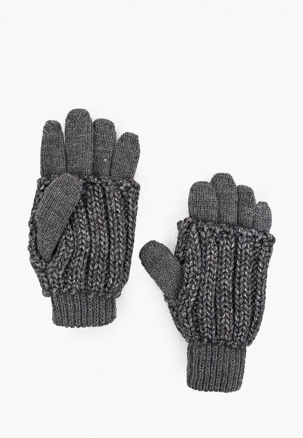 перчатки coccodrillo для девочки, серые
