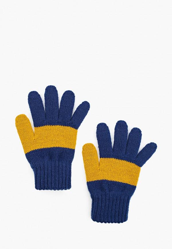 перчатки coccodrillo для девочки, синие