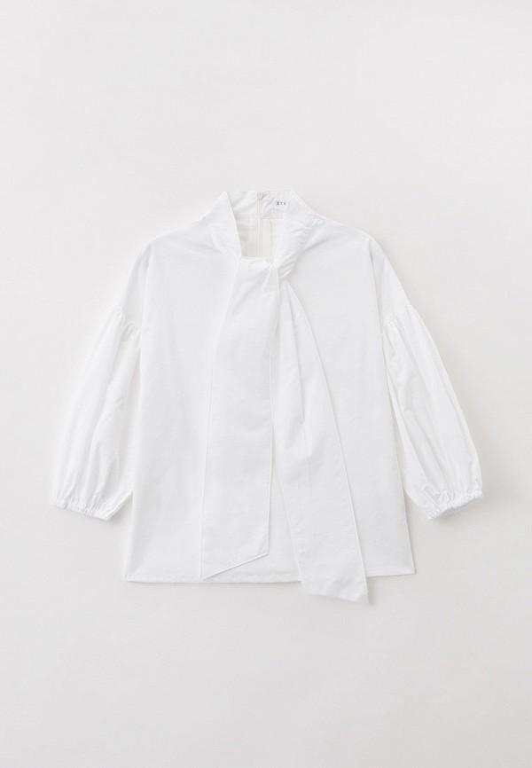 блузка ete children для девочки, белая