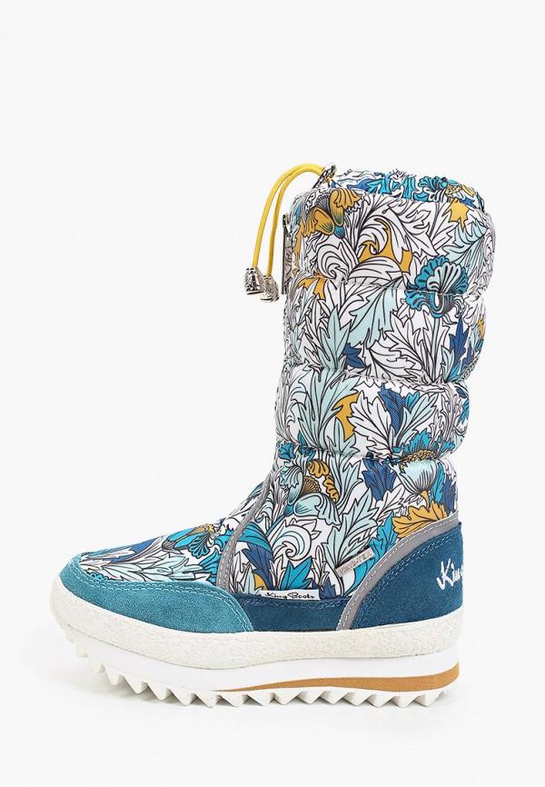 дутики king boots для девочки, разноцветные