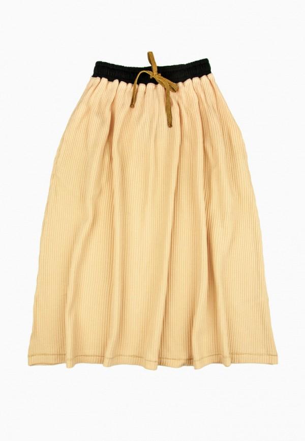 юбка yumster для девочки, бежевая