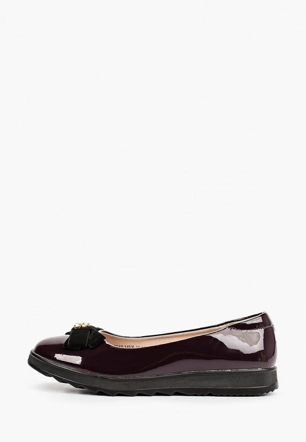 туфли mursu для девочки, фиолетовые