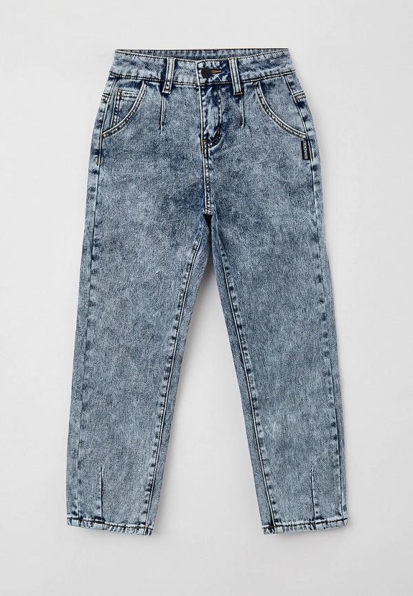джинсы-мом playtoday для девочки, голубые