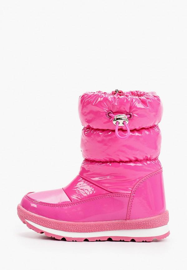 дутики playtoday для девочки, розовые
