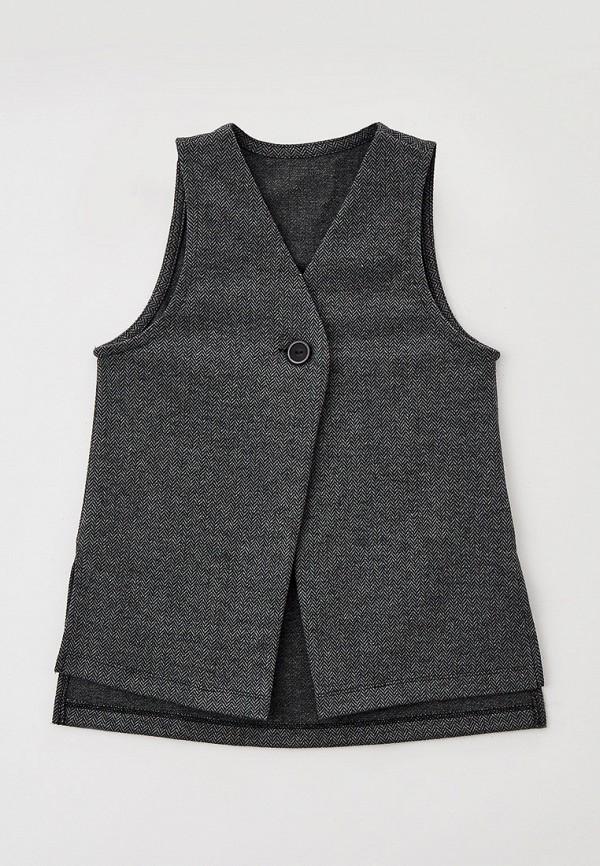 жилет mark formelle для девочки, серый