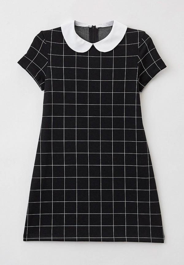 повседневные платье mark formelle для девочки, черное