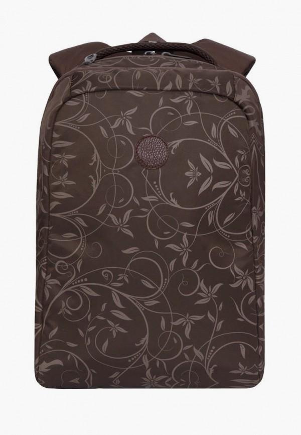 рюкзак grizzly для девочки, коричневый