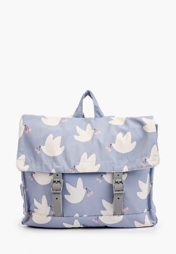 рюкзак sela для девочки, голубой