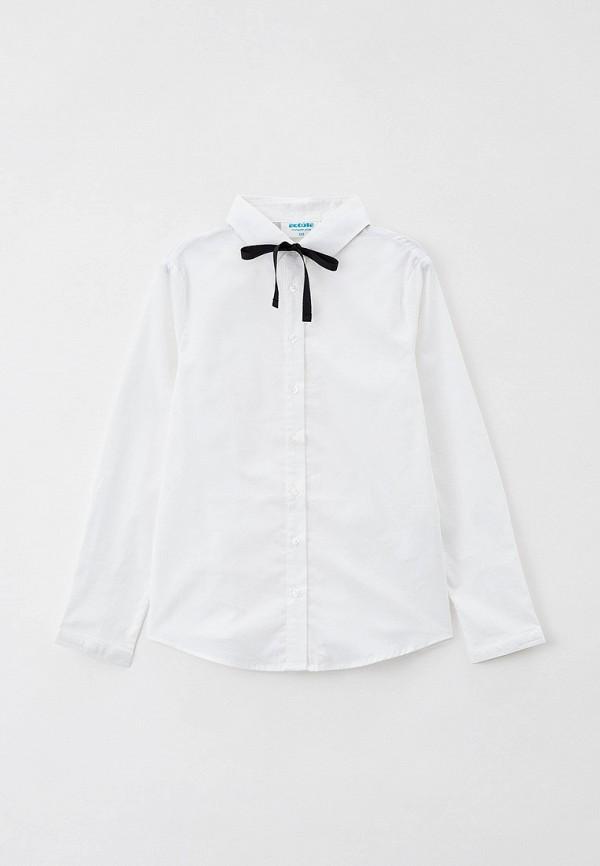 рубашка acoola для девочки, белая