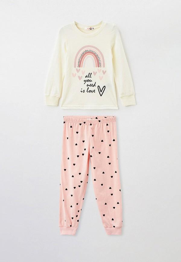 пижама roxyfoxy для девочки, разноцветная