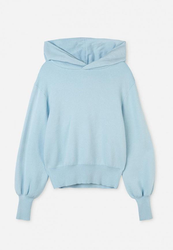 худи gloria jeans для девочки, голубые