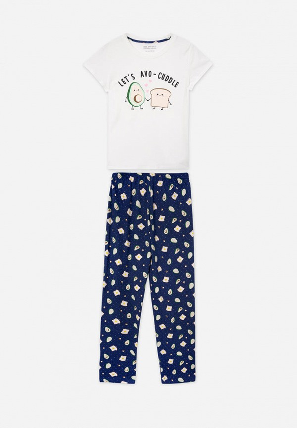пижама gloria jeans для девочки, разноцветная