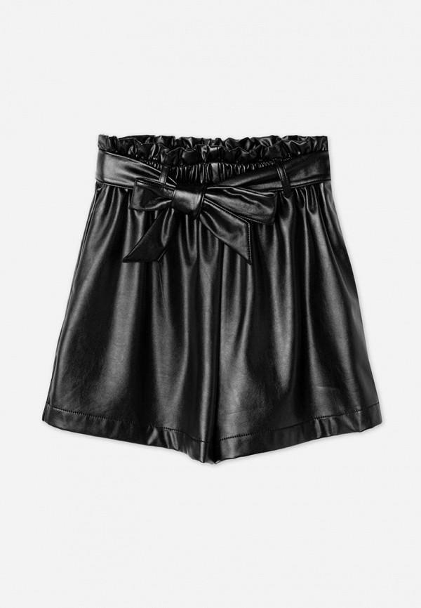 шорты gloria jeans для девочки, черные