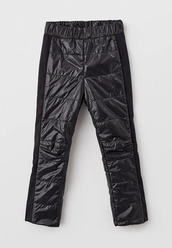 утепленные брюки oldos для девочки, черные