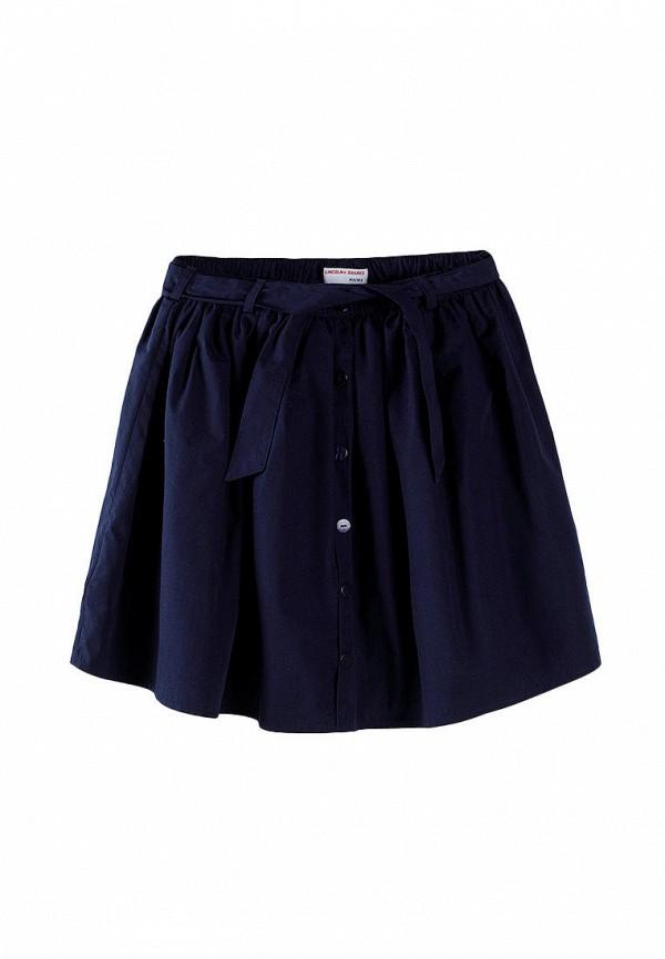 юбка 5.10.15 для девочки, синяя