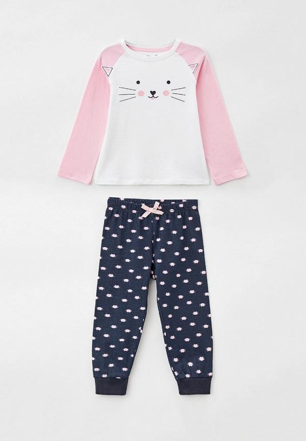 пижама 5.10.15 для девочки, разноцветная