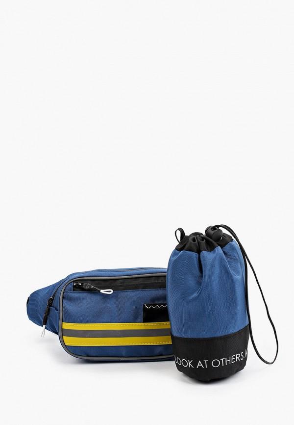 поясные сумка sela для девочки, синяя