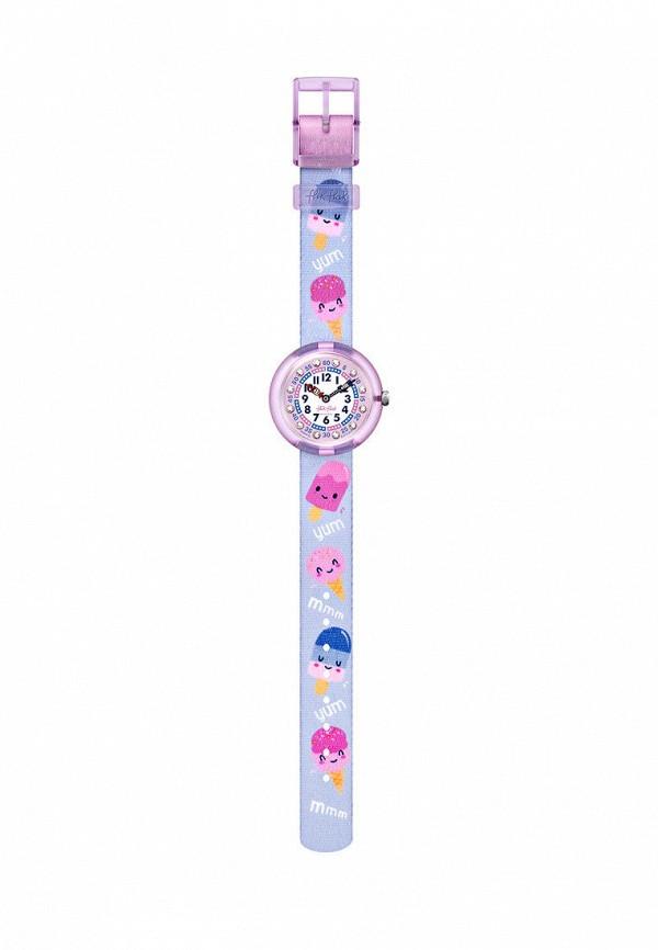 часы flik flak для девочки, фиолетовые