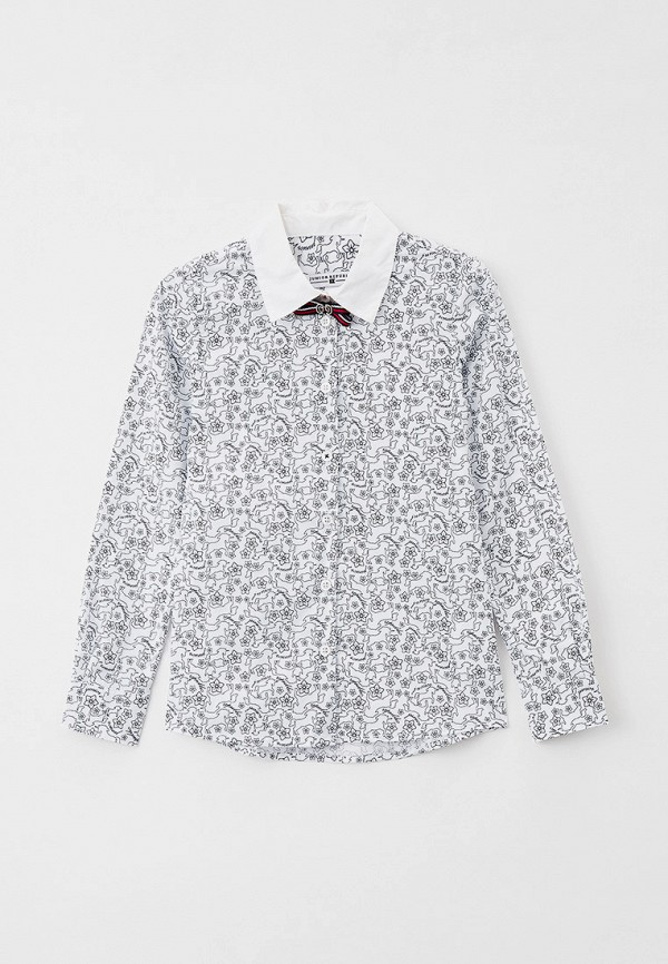 рубашка junior republic для девочки, белая
