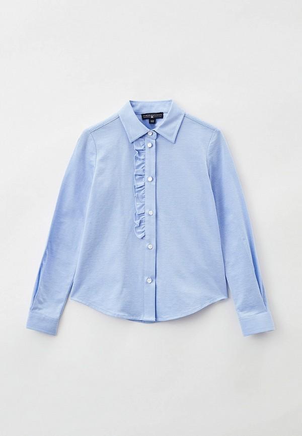 блузка junior republic для девочки, голубая