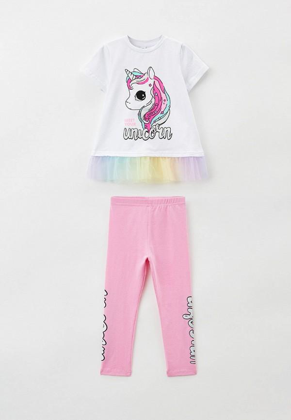 леггинсы playtoday для девочки, разноцветные