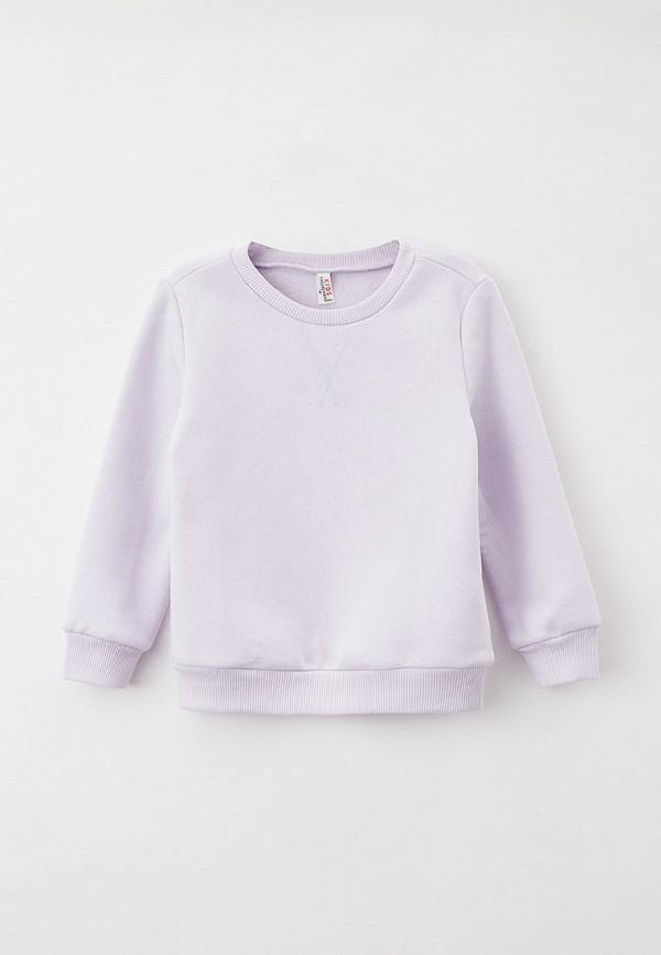 свитшот defacto для девочки, фиолетовый