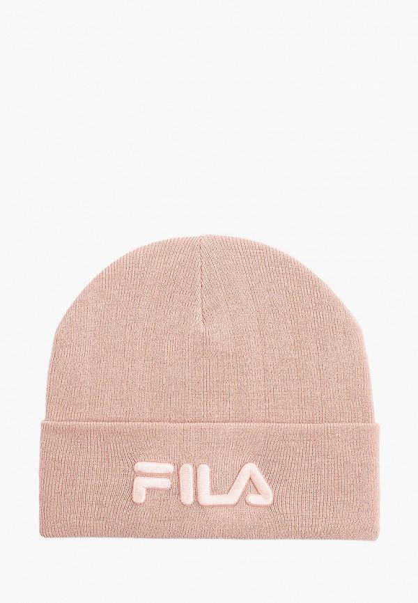 шапка fila для девочки, розовая