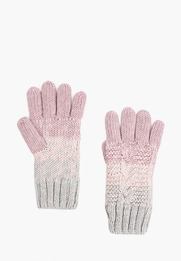перчатки demix для девочки, разноцветные