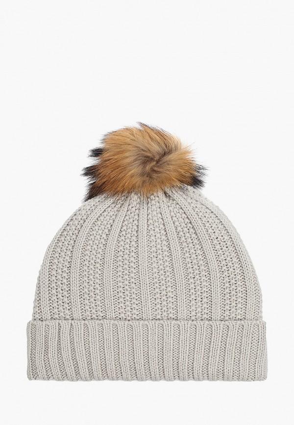 шапка kerry для девочки, серая