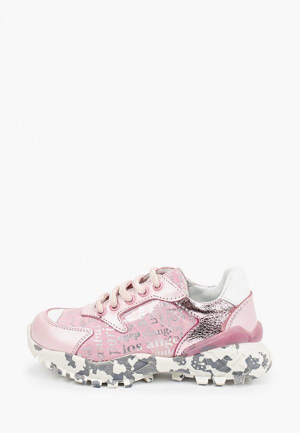 кроссовки ташики anatomic comfort для девочки, розовые