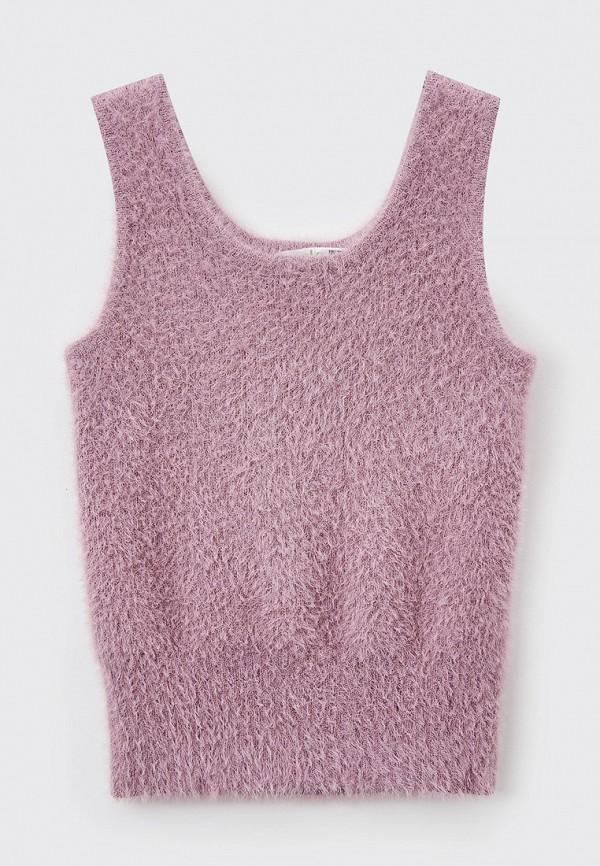 жилет sela для девочки, фиолетовый