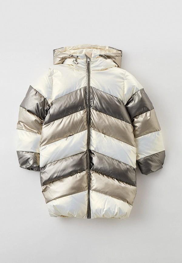 утепленные куртка baon для девочки, разноцветная