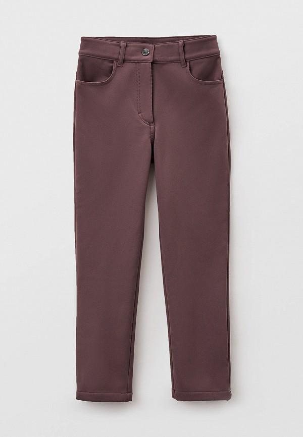 брюки baon для девочки, коричневые
