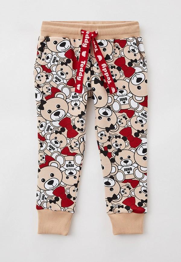 спортивные брюки juno для девочки, разноцветные