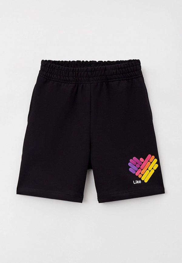 шорты juno для девочки, черные