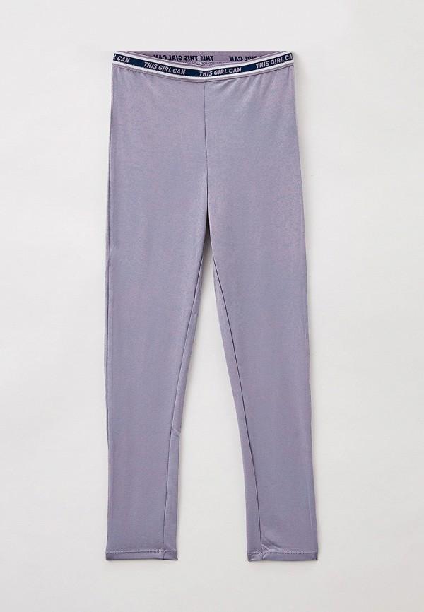 леггинсы sela для девочки, фиолетовые