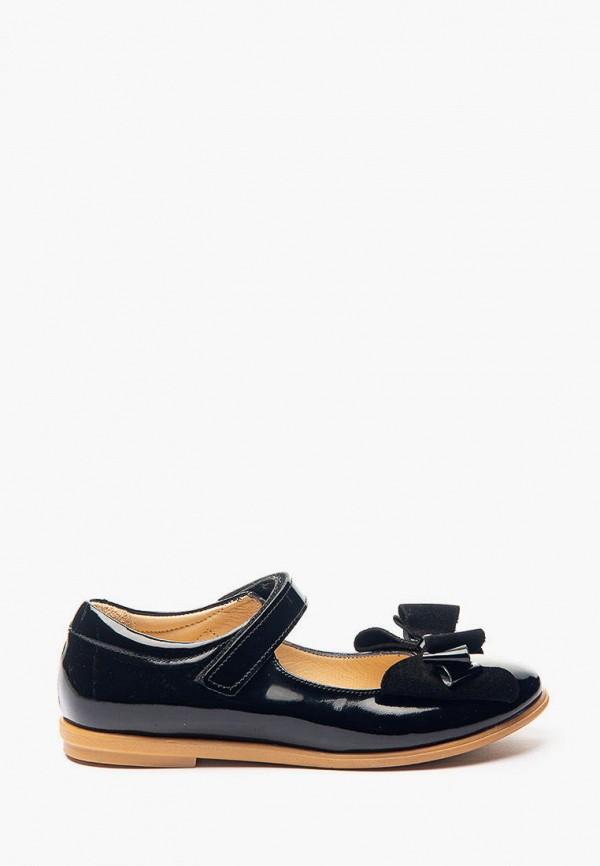туфли theo leo для девочки, черные