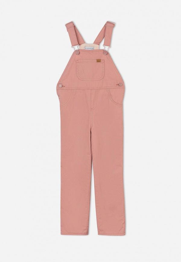 комбинезон с брюками gloria jeans для девочки, розовый