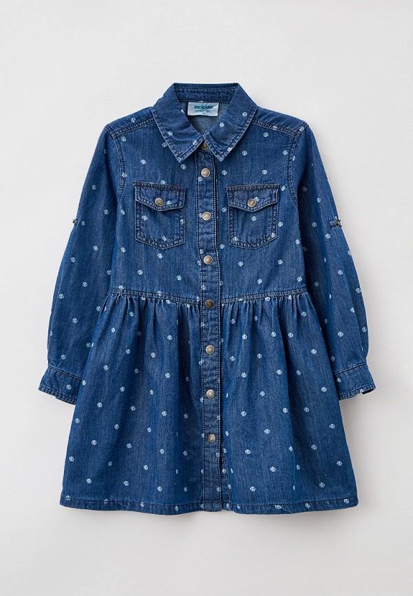джинсовые платье acoola для девочки, синее