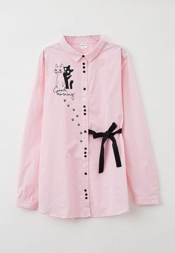 рубашка o'stin для девочки, розовая