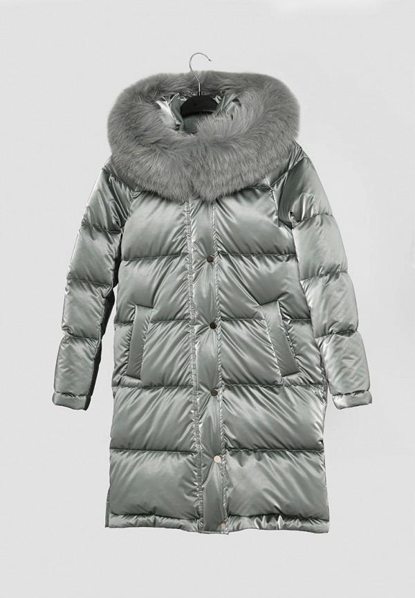 куртка carica&x-woyz для девочки, зеленая