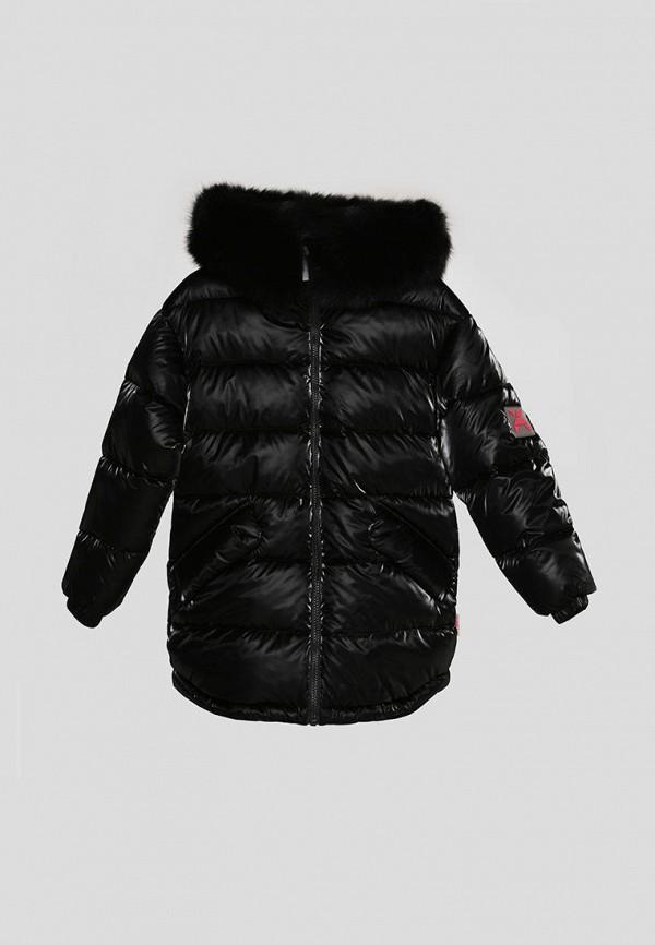 куртка carica&x-woyz для девочки, черная