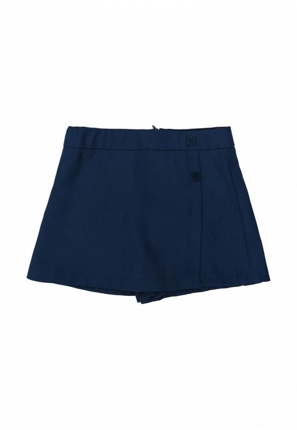 юбка бемби для девочки, синяя