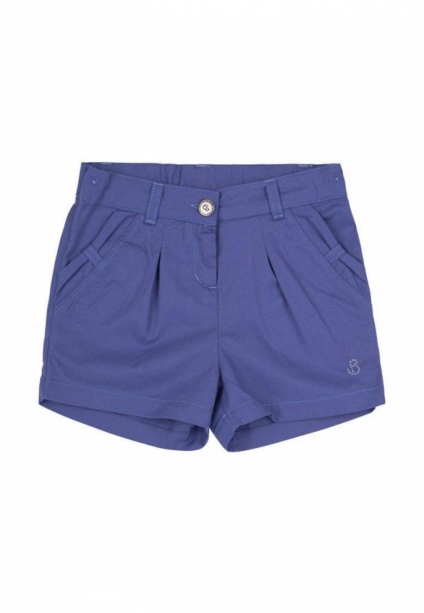 шорты бемби для девочки, голубые