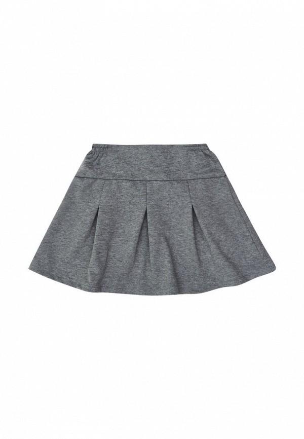 юбка бемби для девочки, серая