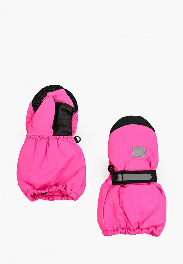 варежки playtoday для девочки, розовые