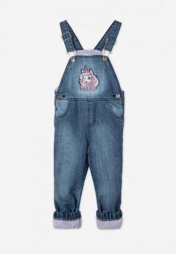 джинсовые комбинезон gloria jeans для девочки, синий